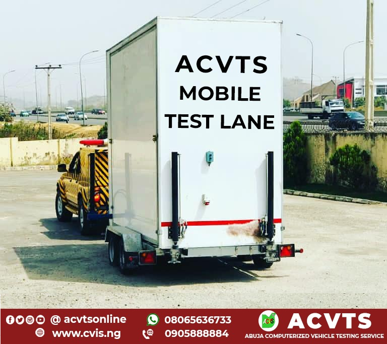 CVIS INTRODUCES THE NEW MOBILE TEST LANE